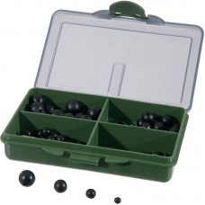 Anaconda - Bead Box 100 st Black