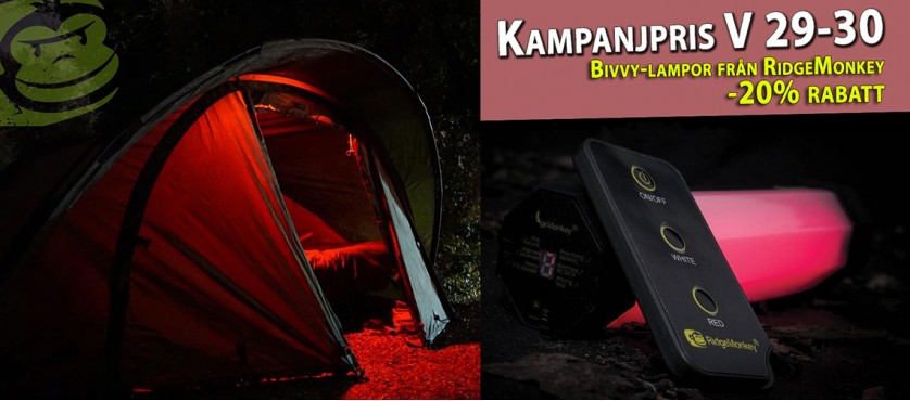 Ridge Monkey Bivvy Lights
