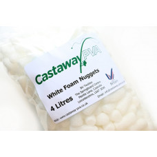Castaway PVA - Foam Nuggets White