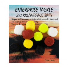 Enterprise Tackle - Mixed Colours Zig Rig Surface Baits