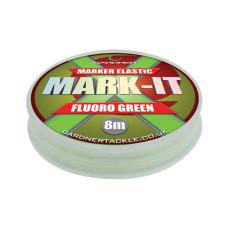 Gardner - Marker Elastic Fluoro Green 8m