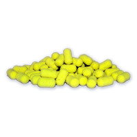 Karpfiskebutiken - Dumbell Fluo Yellow Pop Ups Milky Pineapple