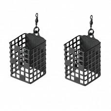 Mivardi - Cage Feeder Premium Square 2-pack