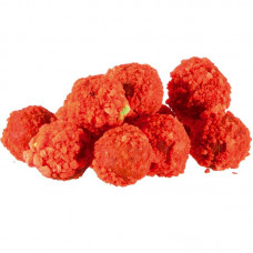 MS Range - Fluo Crispy Boilies 10-14mm Strawberry