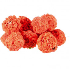 MS Range - Fluo Crispy Boilies 10-14mm Robin Red