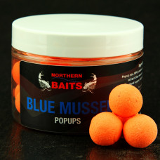 Northern Baits - Pop Up Blue Mussel Orange