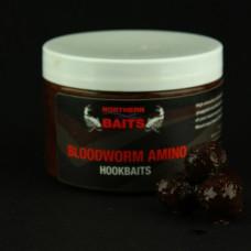 Northern Baits - Bloodworm Amino Glugged Hookbaits 14-16mm
