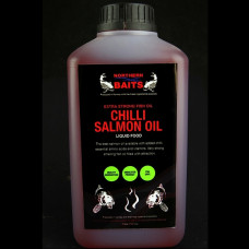 Northern Baits - Liquid Chili Salmon Oil 1000ml
