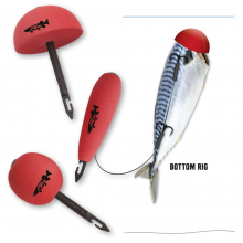 Quantum - Mr Pike Bait Pop Up Kit Red 3-pack