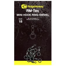 Ridge Monkey - RM-Tec Mini Hook Ring Swivel