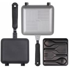 RidgeMonkey - Deep Fill Sandwich Toaster XL + Utensil Set