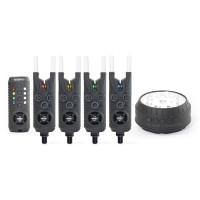 Sonik - Gizmo bite alarm set 4 + Free Bivvy Light