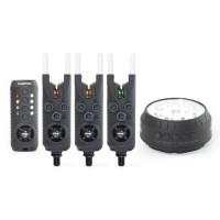 Sonik - Gizmo bite alarm set 3 + Free Bivvy Light
