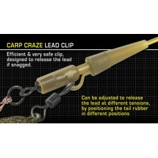 Carp Craze - Lead Clips Safety 10st