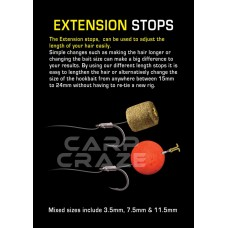 Carp Craze - Extension Boilie Stops