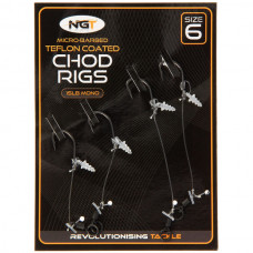 NGT - Chod Rigs 2 Short and 2 Long