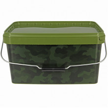 NGT - Camou Bucket Square 12,5 L