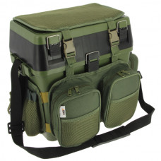 NGT - Seat Box System with Canvas Rucksack Overcoat
