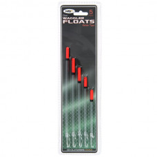 NGT - Pack of 5 Wide Tip Waggler Floats Unloaded