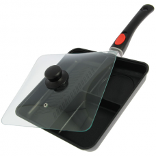 NGT - 3 Way Outdoor Frying Pan with Removable Handle and Lid